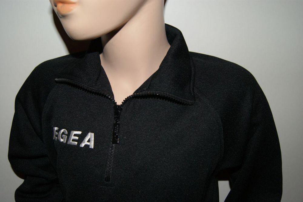 LEGEA schwarz AKTION ! Trainingsanzug Grecia v 3XS = 128