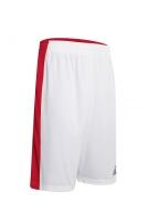 Basketball Wende Shorts Larry v. Acerbis , weiß-rot, 4XS-4XL
