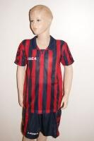 14 Legea-Fußball-Trikot-Sets - BROADWAY rot / blau